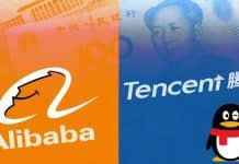 Tencent and Alibaba